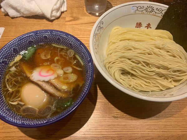 「特製つけ麺」@神田 勝本の写真
