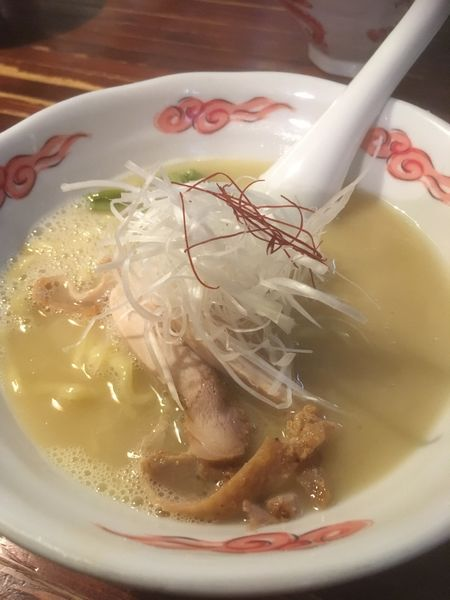 「鶏白湯ラーメン」@麺・酒処 ぶらりの写真