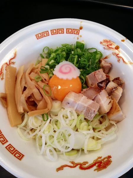「特製まぜそば」@大つけ麺博 美味しいラーメン集まりすぎ祭の写真
