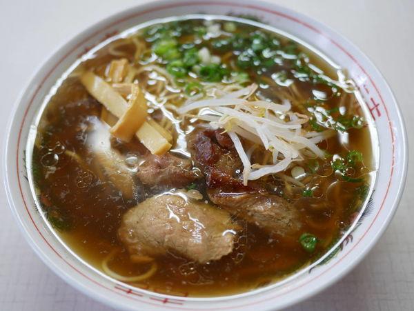 「ラーメン 麺硬め」@すみれ食堂の写真