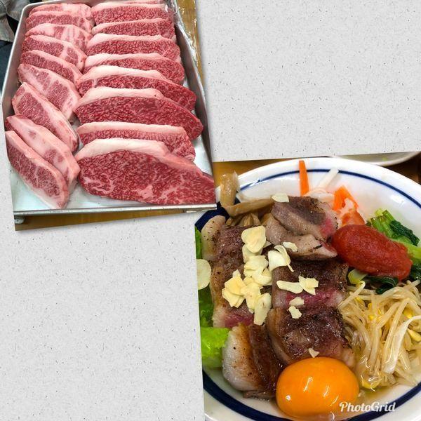 「長月限定・手作り牛脂で和牛和え蕎麦 トマトを添えて」@MENYA 食い味の道有楽の写真