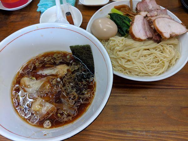 「特製つけ麺」@らぁめん 夢の写真