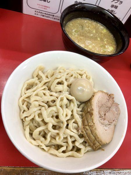 「【限定】背あぶら鶏白湯つけ麺 大 ¥950」@ラーメン一心の写真