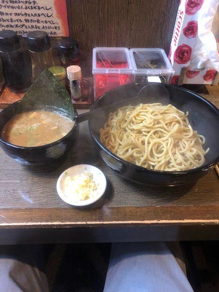 「ぶしもり(並盛、ニンニク)」@麺工房 いなせの写真