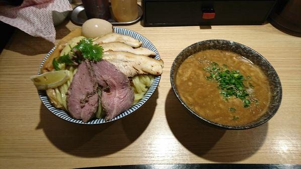 「子羊(ラム)特製つけ麺  特盛500」@自家製麺 MENSHO TOKYOの写真