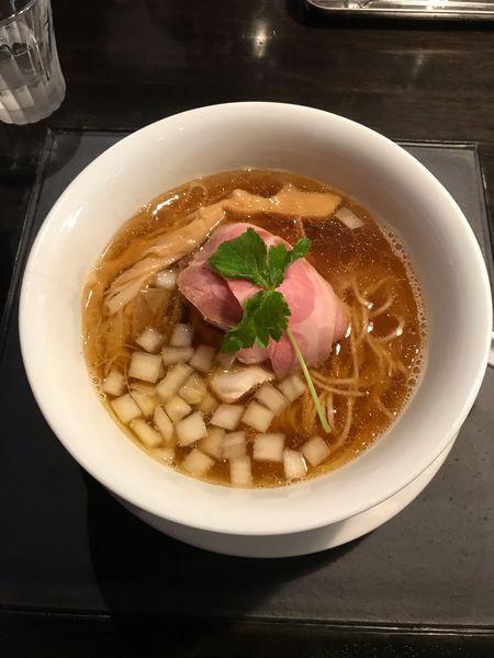 「あご出汁地鶏らぁめん(醤油」@KaneKitchen Noodlesの写真