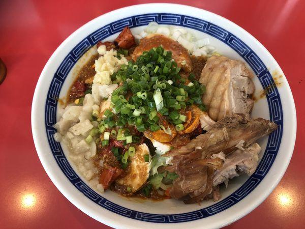 「よだれ鶏の冷やし中華」@ジャンプの写真