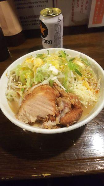 「ラーメン(豚1枚)」@ちばから 渋谷道玄坂店の写真