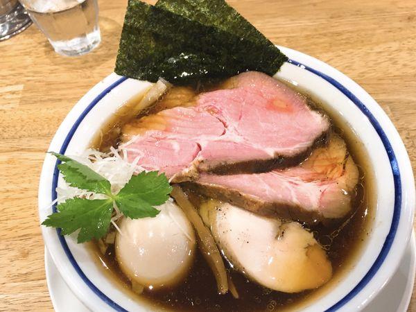 「特製中華そば醤油」@手打式 超多加水麺 ののくらの写真