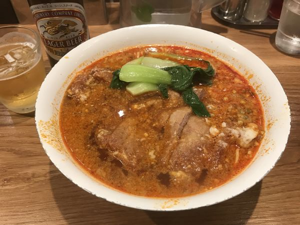 「排骨担々麺」@Renge no Gotokuの写真