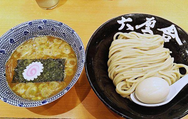 「味玉朝つけ麺 750円」@六厘舎の写真