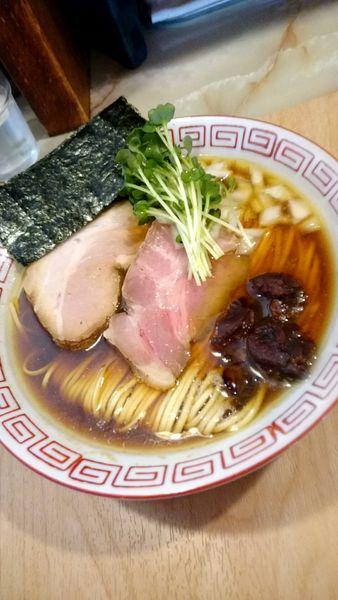 「淡麗カキ煮干そば  900円」@あってりめんこうじ 安中原市店の写真