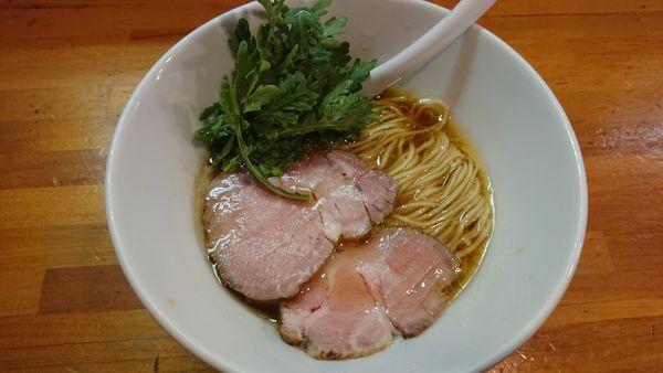 「地鶏醤油 850円」@極汁美麺 umamiの写真