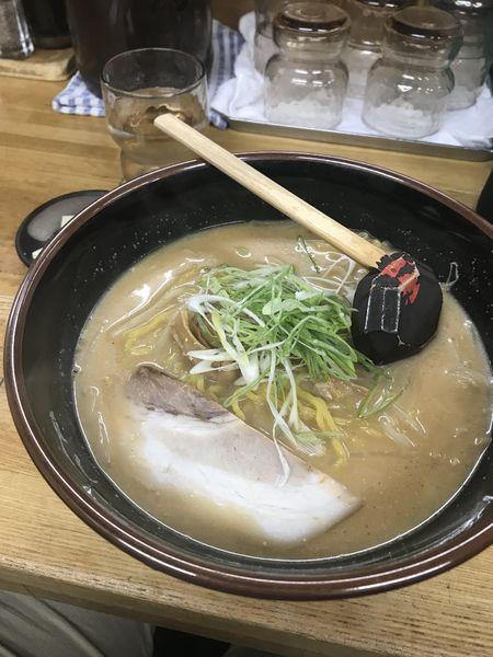 「信州+餃子+炒飯」@らーめん信玄 南6条店の写真
