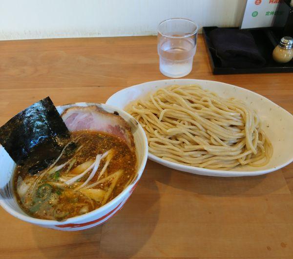 「月曜木曜日 煮干しつけ麺」@らーめん マル汁屋の写真