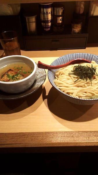 「塩つけ麺中盛(900円)」@塩つけ麺 灯花の写真
