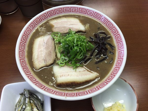 「【期間限定】東久留米 豚骨ラーメンpart3 750円」@中華蕎麦 丸め 東久留米店の写真