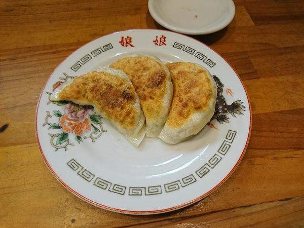 「餃子3個(250円)」@風雅食堂の写真