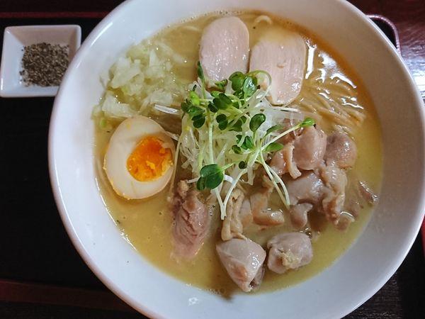 「【限定】鶏白湯 ¥750」@和風らーめん 凪の写真