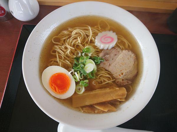 「煮干しラーメン(硬い麺)」@にぼしラーメン かのうやの写真