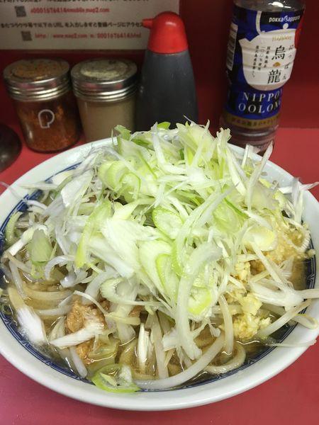 「小ラーメン+ねぎ」@ラーメン二郎 桜台駅前店の写真