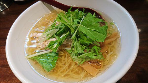 「鶏そば」@好麺の写真