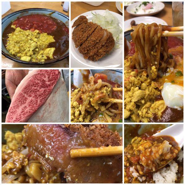 「【10月限定】キーマ風カレーS(ビーフカツランクアップ)」@MENYA 食い味の道有楽の写真