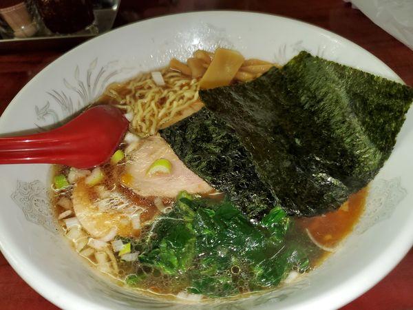 「煮汁そば780円」@らーめん ドラごんちの写真