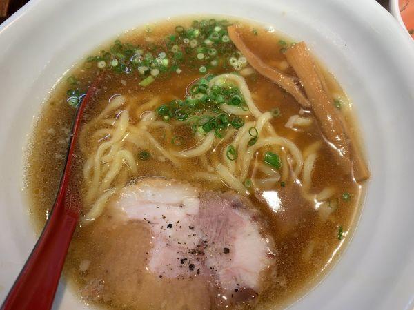 「醤油ラーメン550円」@萬馬軒 花橙の写真