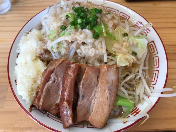 「ラーメン 並 800円」@麺屋 MARUの写真