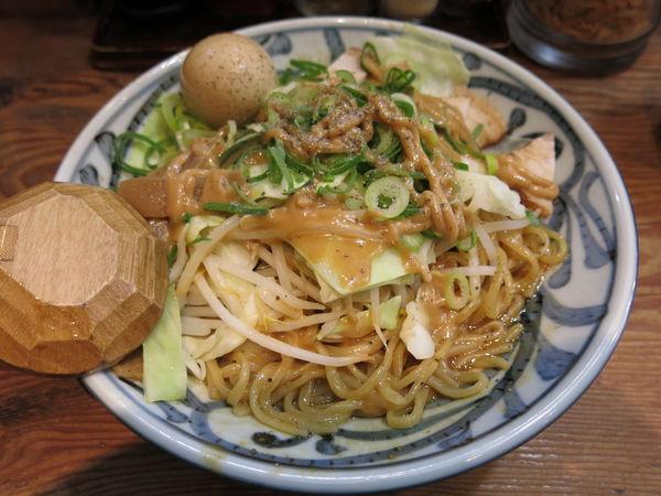 「油そば:840円」@無双 赤坂店の写真