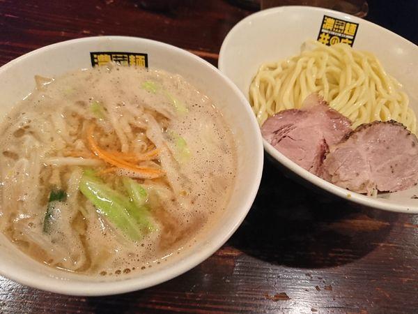 「濃菜つけ麺(880円)」@濃菜麺 井の庄の写真