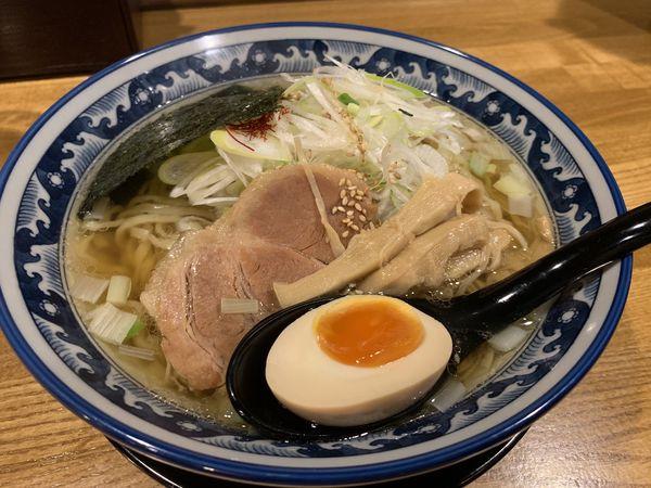 「ひでのやラーメン」@和風楽麺 四代目 ひのでや 大宮店の写真