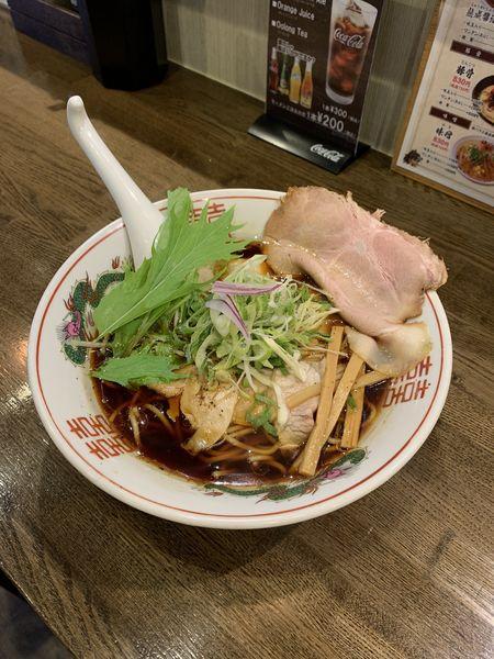 「黒醤油 830円」@麺屋 信成の写真