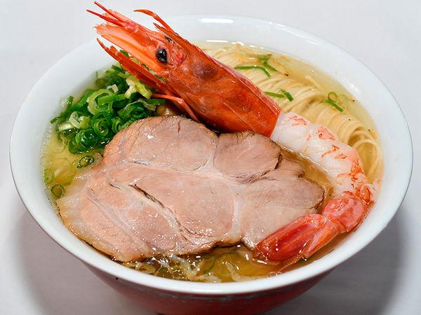 「黄金海老塩そば」@麺や食堂の写真