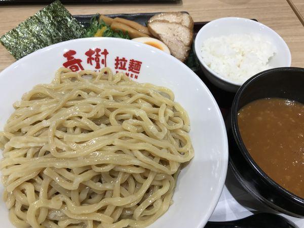 「辛魚介豚骨つけ麺 930円」@えび豚骨拉麺 春樹 南砂町スナモ店の写真