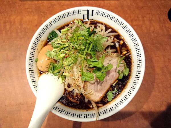 「スパイス・もやしラー麺」@スパイス・ラー麺 卍力 秋葉原店の写真