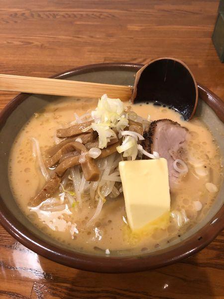 「味噌バターミルク」@札幌ラーメン めんくらの写真