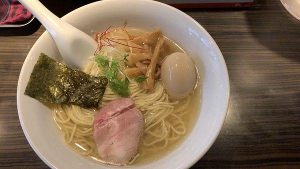 「芳香塩ラーメン」@麺屋 ほたるの写真