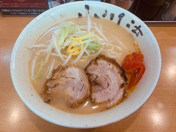 「限定:ゆず香る鶏そば+ちゃーしゅー1枚」@創作らーめん 小川流 二本松店の写真