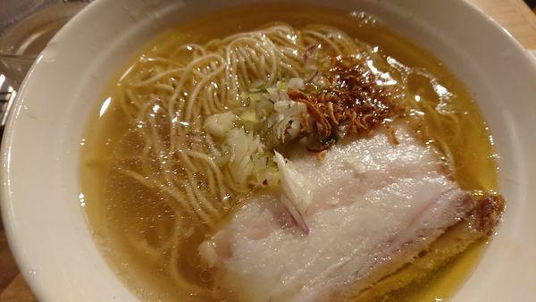 「塩(大盛、弁天の日)」@拉麺 弁tenの写真