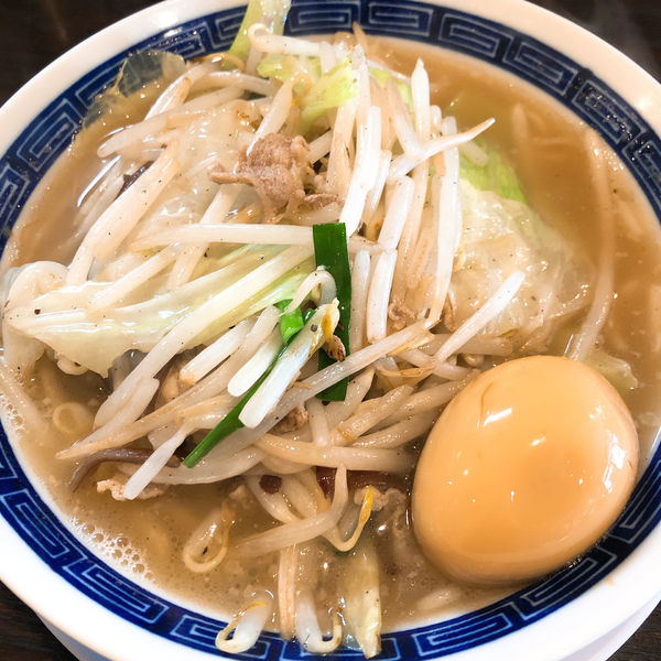 「タンメン (ニンニクなし) ¥790+ 味玉 ¥120」@タンメン ニュータマヤの写真