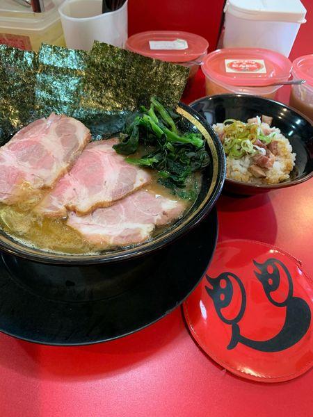「チャーシュー麺」@家系ラーメン とらきち家の写真