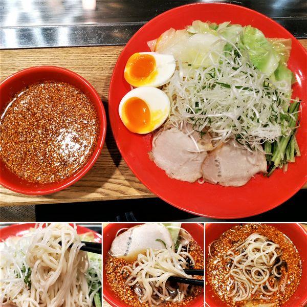 「広島つけ麺(並) 935円」@広島乃風 浅草店の写真