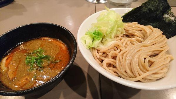 「【昼】海老つけ麺」@つけ麺 五ノ神製作所の写真