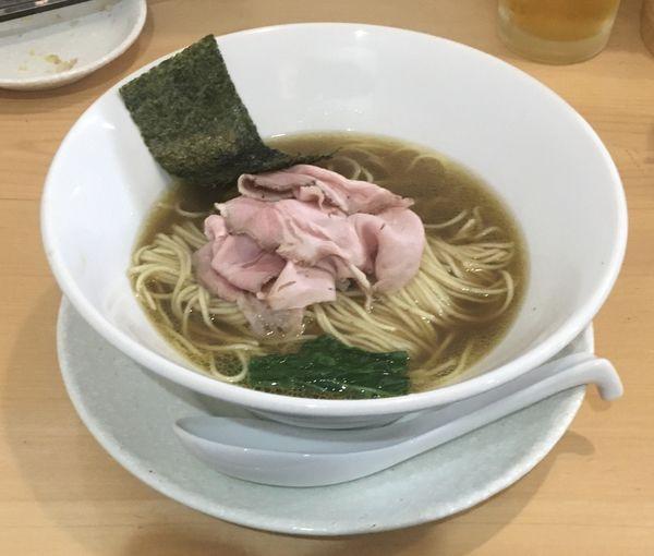 「ワタリガニカモそば【限定】1200円」@麺屋BISQの写真