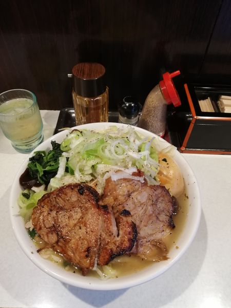「たんめん中 全部入り 1310円」@麺処 まるよし商店の写真