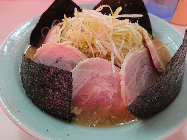 「ネギチャーシュー麺」@ラーメンショップ 宮沢湖店の写真