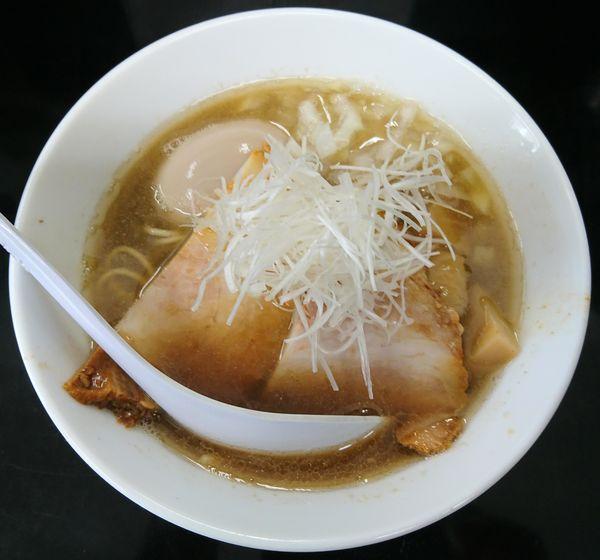 「煮干中華そばNORMAL+煮卵」@煮干中華そば のじじR 我孫子の写真