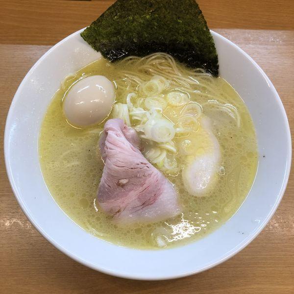 「鶏白湯真鯛そば¥800」@麺処ろくめいの写真